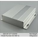 Caja  Aluminum extrusion enclosure for electronics