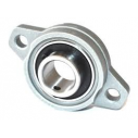 KFL000 rodamiento brida  pillow block 10mm calibre de aleación de zinc Pillow Block Bearing