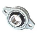KFL000 rodamiento brida 10mm de aleación de zinc