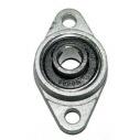 KFL08 rodamiento brida 8mm de aleación de zinc