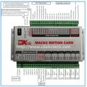Controladora Profesional XHC- MK4 USB  interfaz mach3