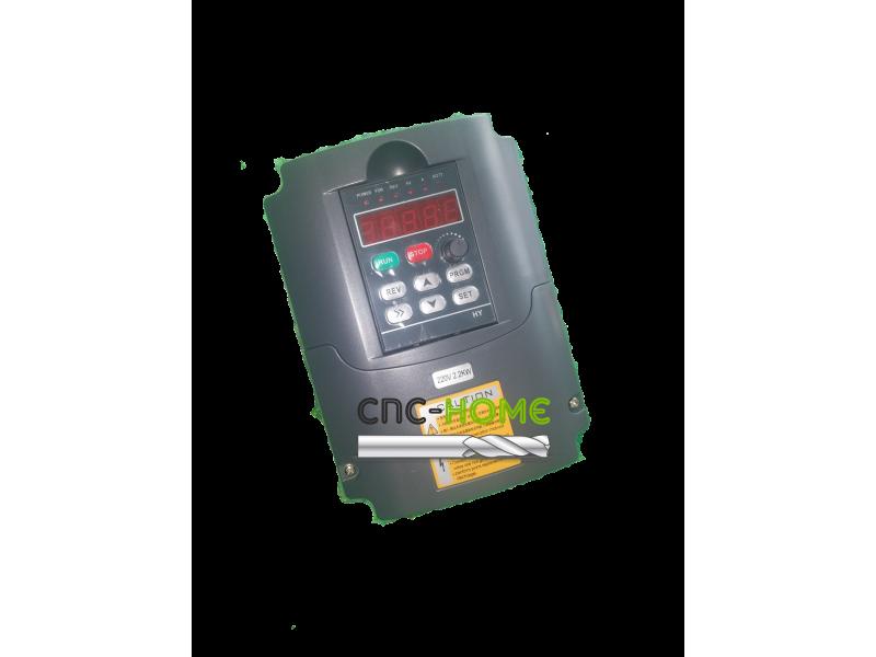 Variador 220 / 2,2kw VFD frecuencia Variable VFD  inversor 1HP o 3HP entrada 3HP convertidor de frecuencia