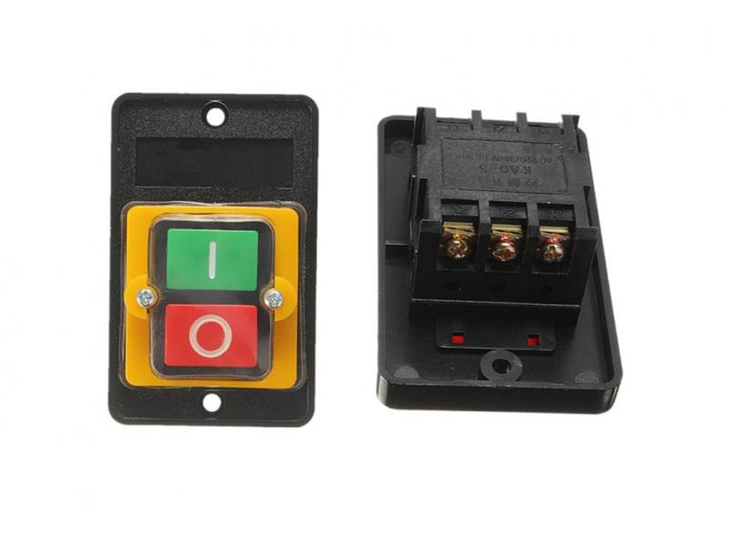 Interruptor   10A 380 V  impermeable on/off