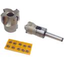 Fresa CNC Para planeado MT3 FMBH M12+10 Plaquitas