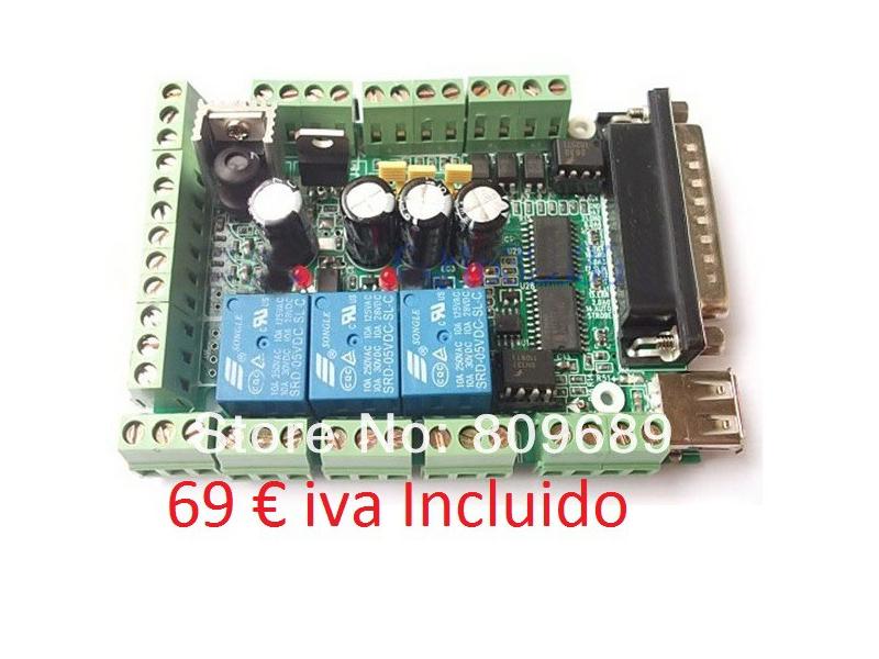 MACH3 USB CNC 4 Axis Interface