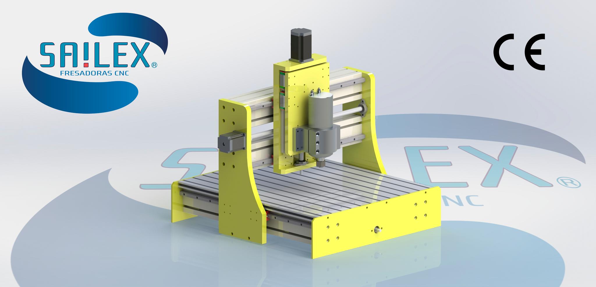 Fresadora CNC Marca Sailex